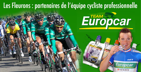 sponsor de la team europcar tour de france